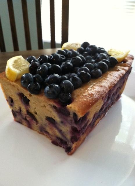 Bon Appetit Blueberry Lemon Cake
